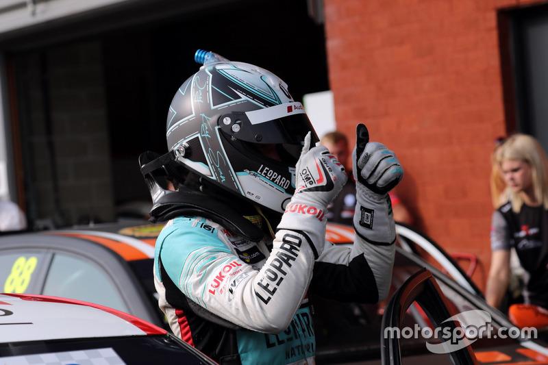 Race winner Jean-Karl Vernay, Leopard Lukoil Team Audi RS3 LMS TCR