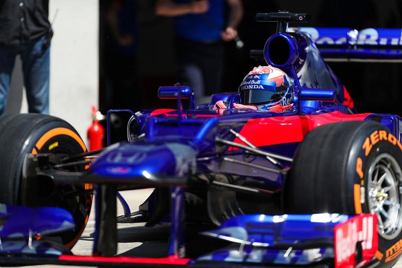 Marc Márquez, prueba un monoplaza Toro Rosso F1