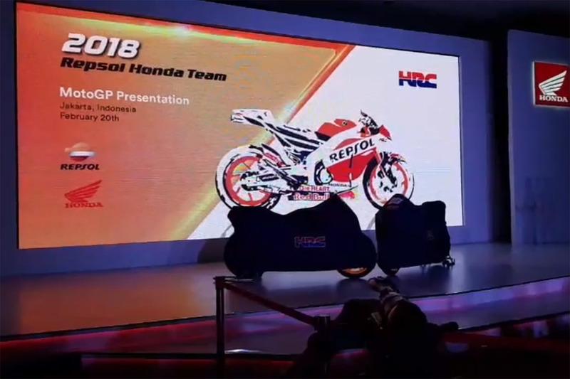 Repsol Honda Team lansmanı
