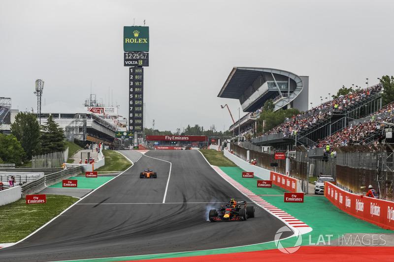 5: Max Verstappen, Red Bull Racing RB14, 1'16.816