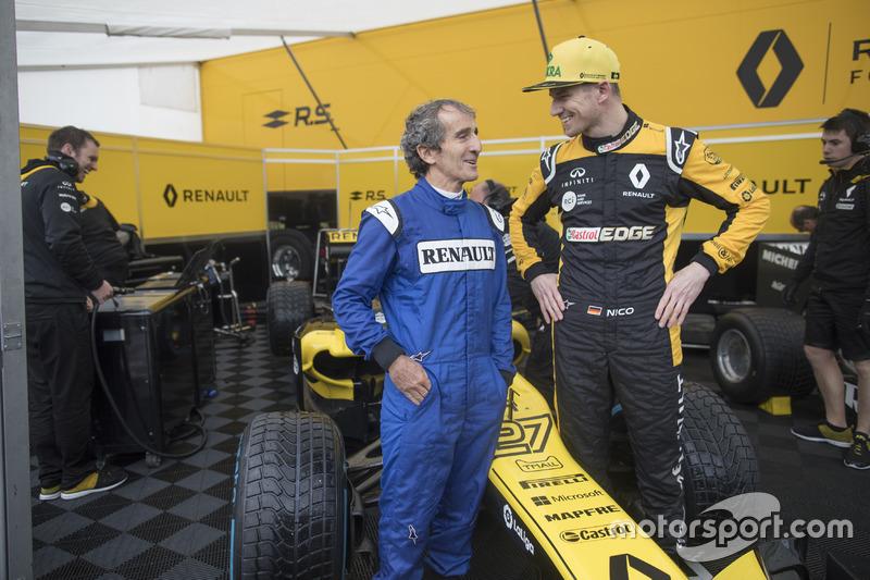 Alain Prost, Renault Sport F1 Team, Nico Hülkenberg, Renault Sport F1 Team
