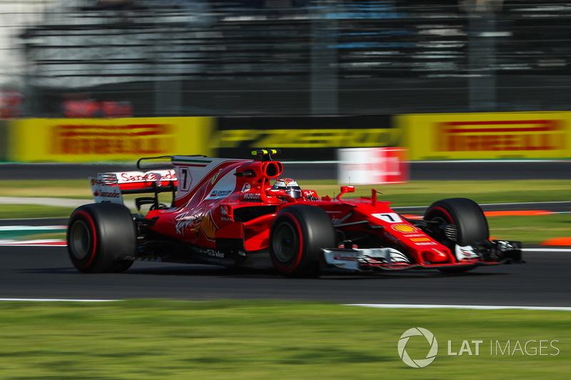 5º Kimi Raikkonen, Ferrari SF70H