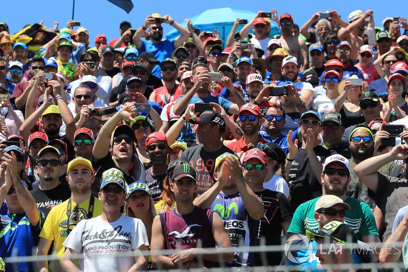 Penonton di Sirkuit Jerez