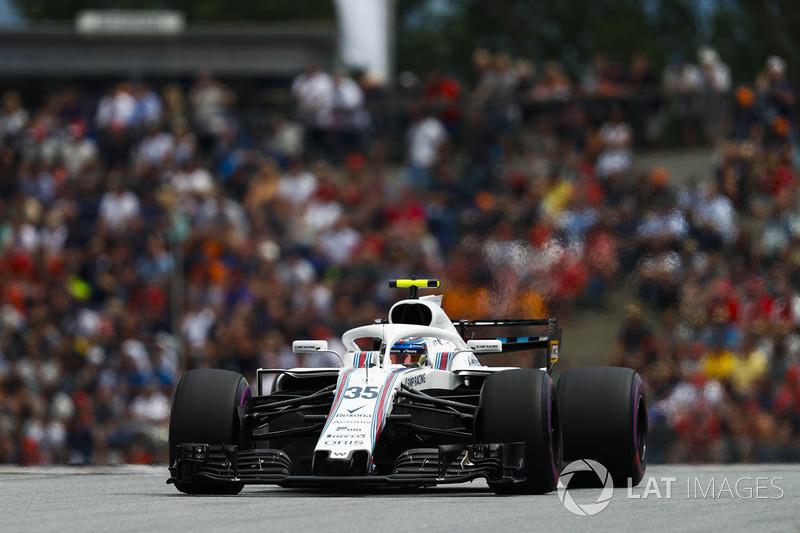 14. Sergei Sirotkin, Williams FW41