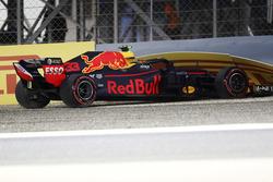 Авария: Макс Ферстаппен, Red Bull Racing