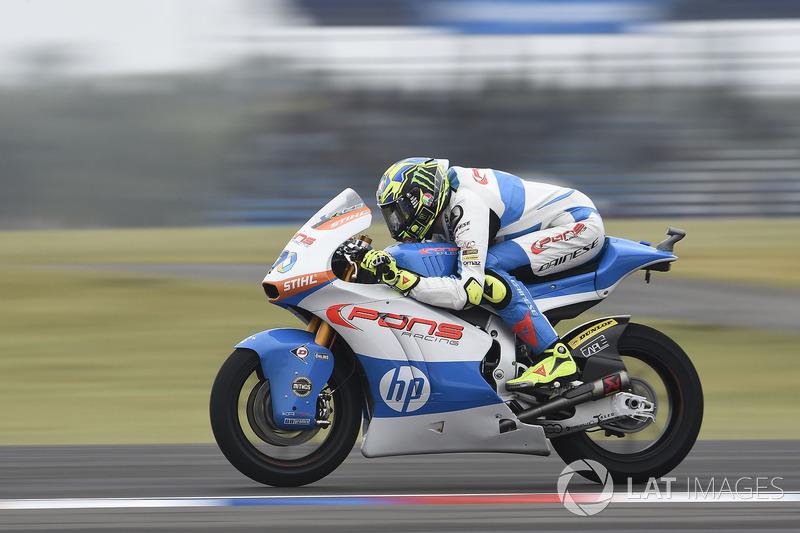 Lorenzo Baldassarri, Pons HP 40