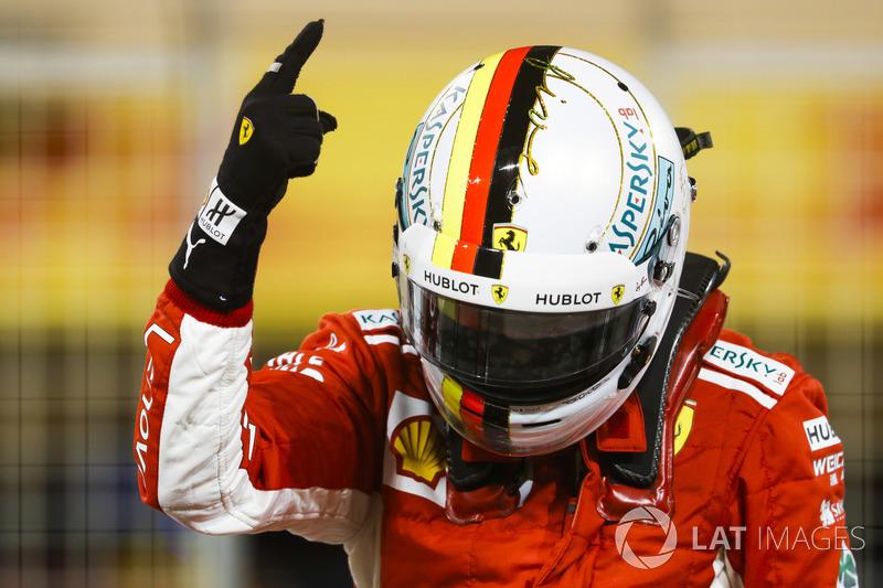1: Sebastian Vettel, Ferrari SF71H, 1'27.958