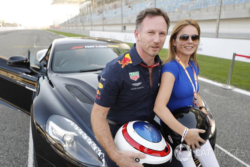 Гран При Бахрейна: певица Spice Girls и жена руководителя Red Bull Racing Джери Хорнер