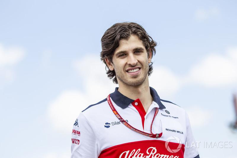 """Aunque ya corrió con ellos, Haas está menos interesado en un """"novato"""" como Antonio Giovinazzi. Además, el anuncio de Raikkonen le puede cerrar también la puerta de Sauber..."""
