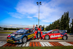 Kevin Eriksson and Robin Larsson, Olsbergs MSE