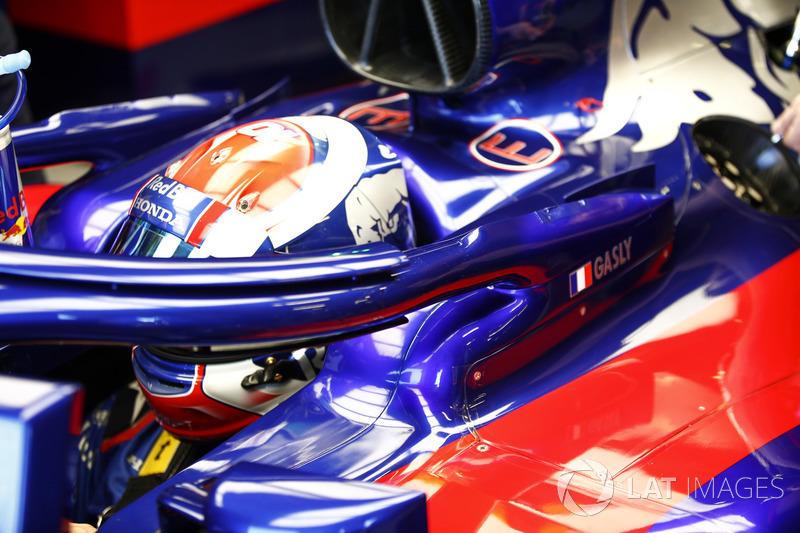 Halo на Toro Rosso STR13