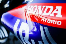 Logo Honda sur la Toro Rosso STR13