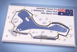 Mapa del circuito Melbourne Grand Prix