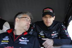 Sébastien Bourdais, Dale Coyne Racing with Vasser-Sullivan Honda, engineer Craig Hampson