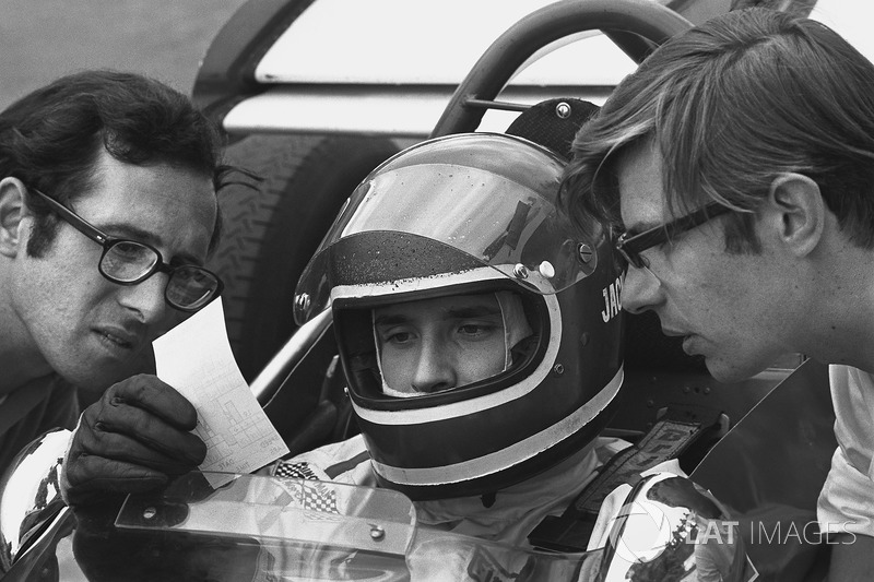 Jacky Ickx, Ferrari 312B ve Mauro Forghieri, Teknik Direktörü