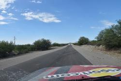 Toyota HDj100 di motorsport.com in trasferimento verso San Juan