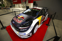La Ford Fiesta WRC de Sébastien Ogier exposée