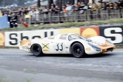 Rolf Stommelen, Jochen Neerpasch, Porsche 908/8
