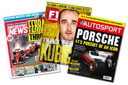 Print titles: Motorsport News, F1 Racing, Autosport