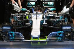 Mercedes-Benz F1 W08: Sensoren
