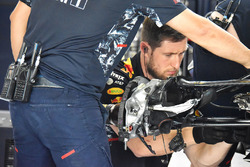 Red Bull Racing RB13 brake detail