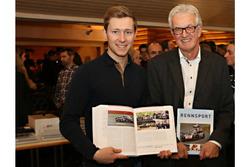 Der Autor Peter Wyss mit Philipp Frommenwiler