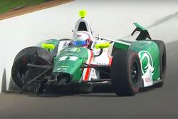 Аварія Спесера Пігота, Juncos Racing Chevrolet