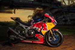 Moto de Stefan Bradl, Honda World Superbike Team en el F60 digger