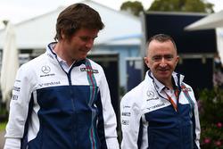 Rob Smedley, Williams, mit Paddy Lowe, Williams-Technikchef