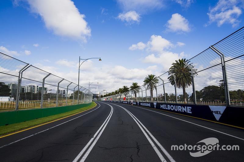 Atmosphäre auf der Strecke in Melbourne
