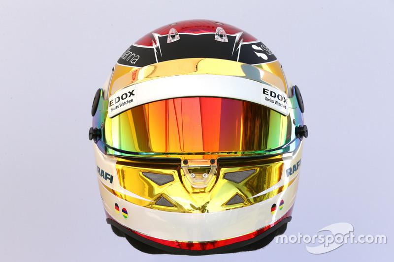 Casco de Pascal Wehrlein, Sauber C36