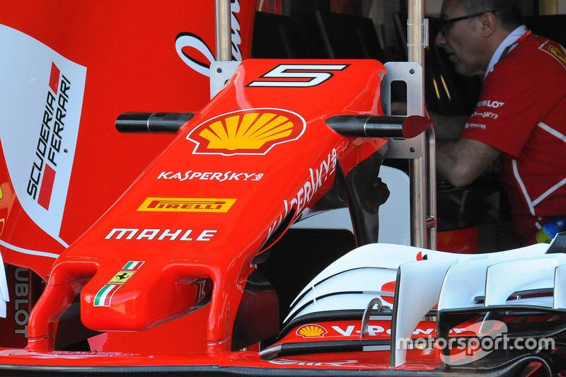 Переднее антикрыло Ferrari SF70H