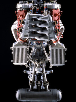 Ferrari F40: Motor