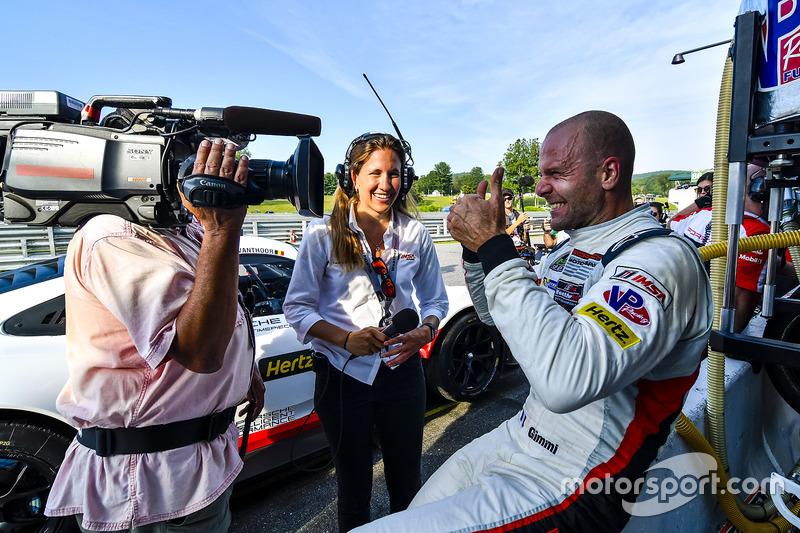 Ganador de la pole Gianmaria Bruni, Porsche Team