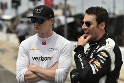 Josef Newgarden, Team Penske Chevrolet, Simon Pagenaud, Team Penske Chevrolet