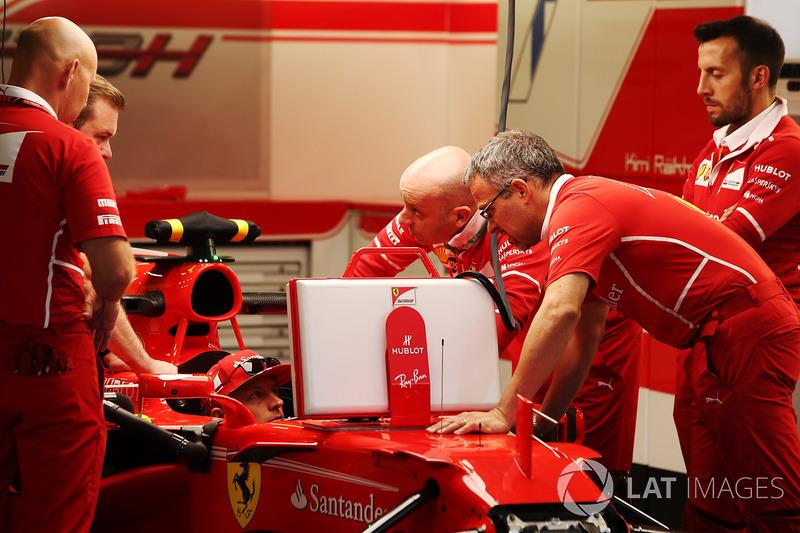 Кімі Райкконен, Ferrari, з колегами