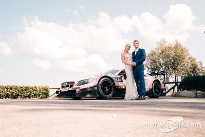 Maro Engel's wedding