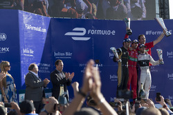 Podium: Lucas di Grassi, ABT Schaeffler Audi Sport, Jean-Eric Vergne, Techeetah. & Sam Bird, DS Virgin Racing