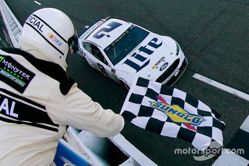Sieg für Brad Keselowski, Team Penske, Ford