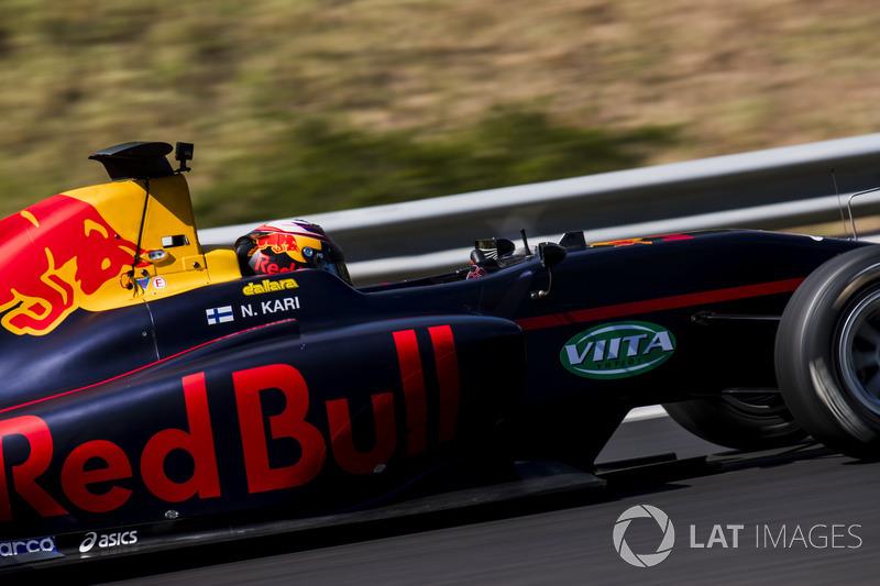 Нико Кари, Arden International (GP3, 10-е место в общем зачете, 63 очка, одна победа и один подиум)