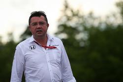 Eric Boullier, Director de carreras de McLaren