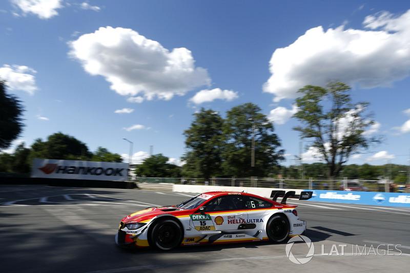 Ausfall: Augusto Farfus, BMW Team RMG, BMW M4 DTM
