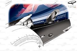 Toro Rosso STR7 new exhaust
