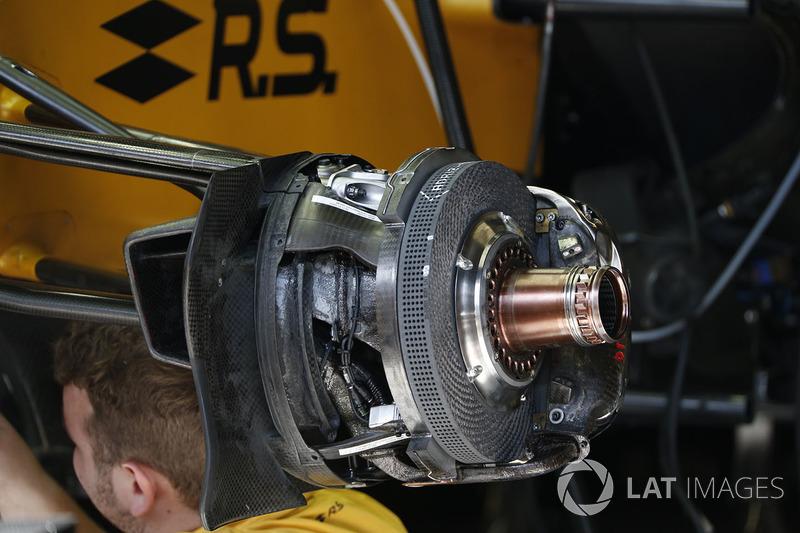 Renault Sport F1 Team RS17, detalles del monoplaza