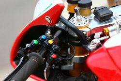 Switch gear on the bike of Leon Camier, MV Agusta