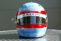 Helmet of Fernando Alonso, Renault F1 Team