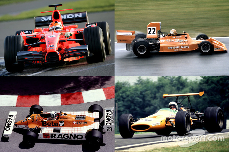 La F1 naranja