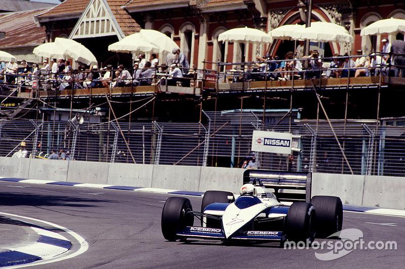 #7 : Stefano Modena, Brabham BT56, BMW
