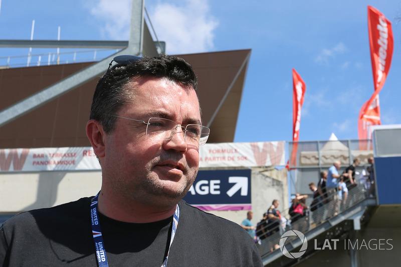 Eric Boullier, Rennleiter, McLaren
