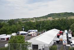 Fahrerlager am Hungaroring